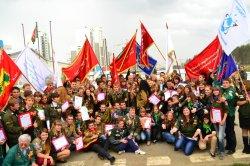 """Закрытие Всероссийской студенческой стройки """"Академический"""" 2012"""